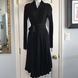 Donna Karan Sweater Wrap Dress